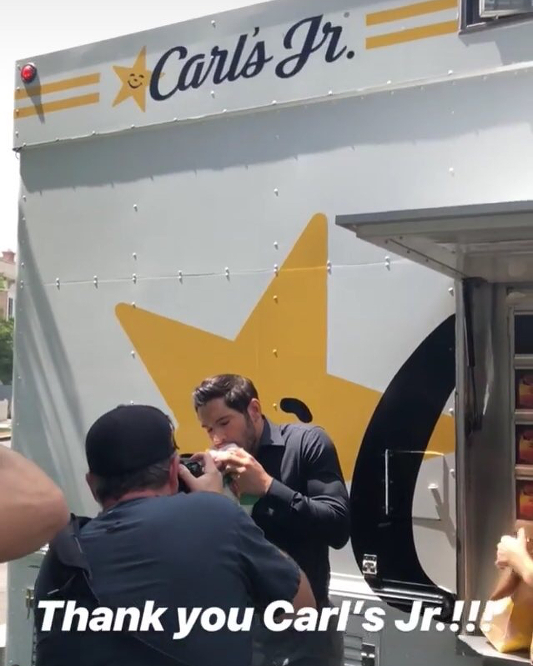 Lucifer Season 4 Bts: New Tom Ellis BTS Pictures And Videos Lucifer Season 4