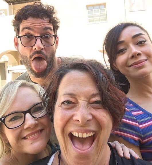 Tom Ellis On Set – Day 1 Of Lucifer Season 4