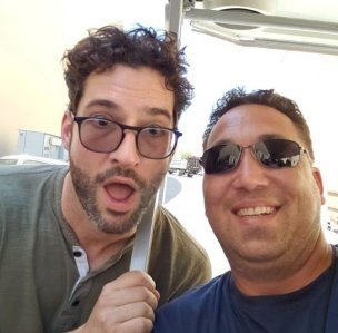 Tom Ellis with fans BTS lucifer season 4