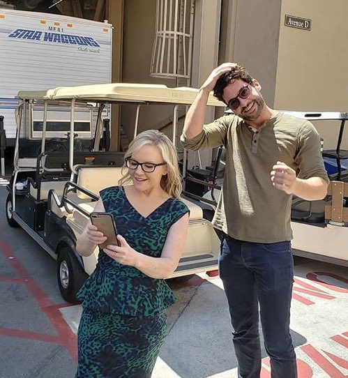 BTS lucifer season 4 Tom Ellis