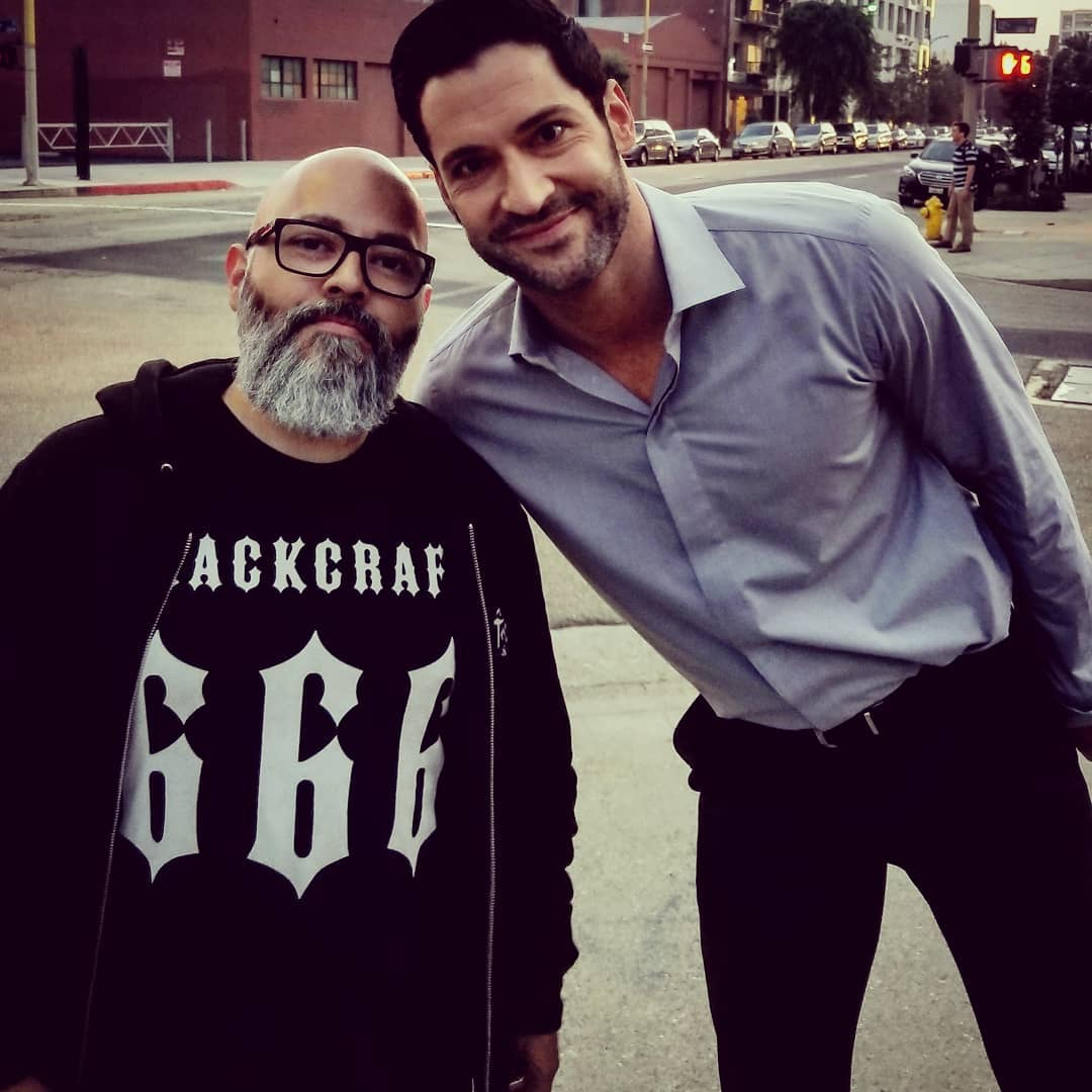 Lucifer Season 4 Bts: New Tom Ellis Pictures & Videos