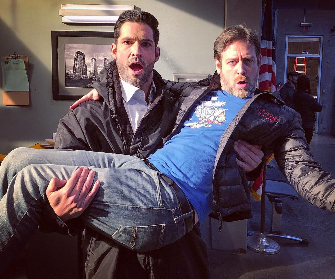 Lucifer Season 4 Bts: New Tom Ellis Videos & Pictures