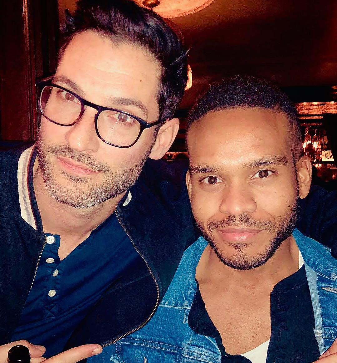 New Tom Ellis Bts Pictures And Videos Lucifer Season 4: Pictures And Videos Of Tom Ellis From The Lucifer S4 Wrap