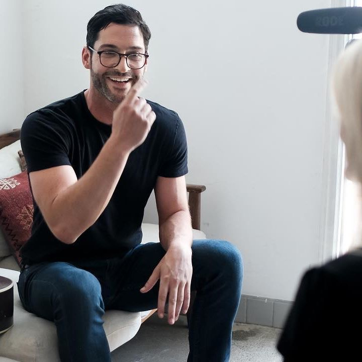 Tom Ellis Home: New Pictures Of Tom Ellis From The LipRoll Podcast