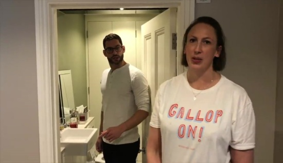 Tom Ellis Miranda Hart - 00961