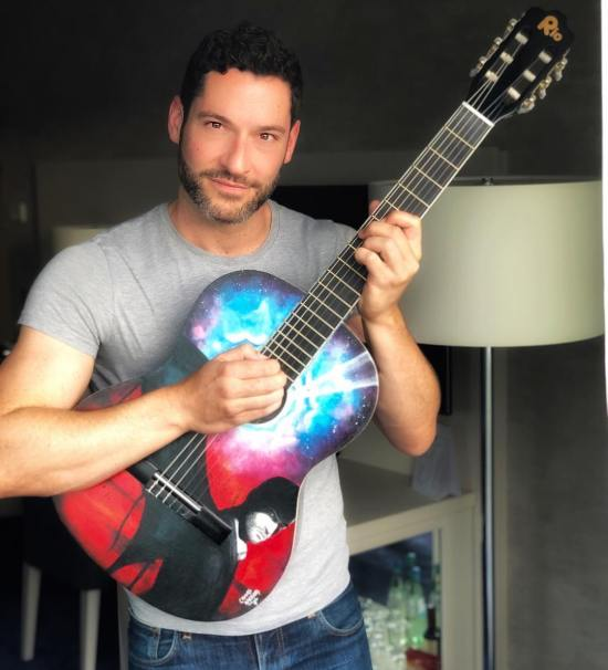 New Picture Of Tom Ellis