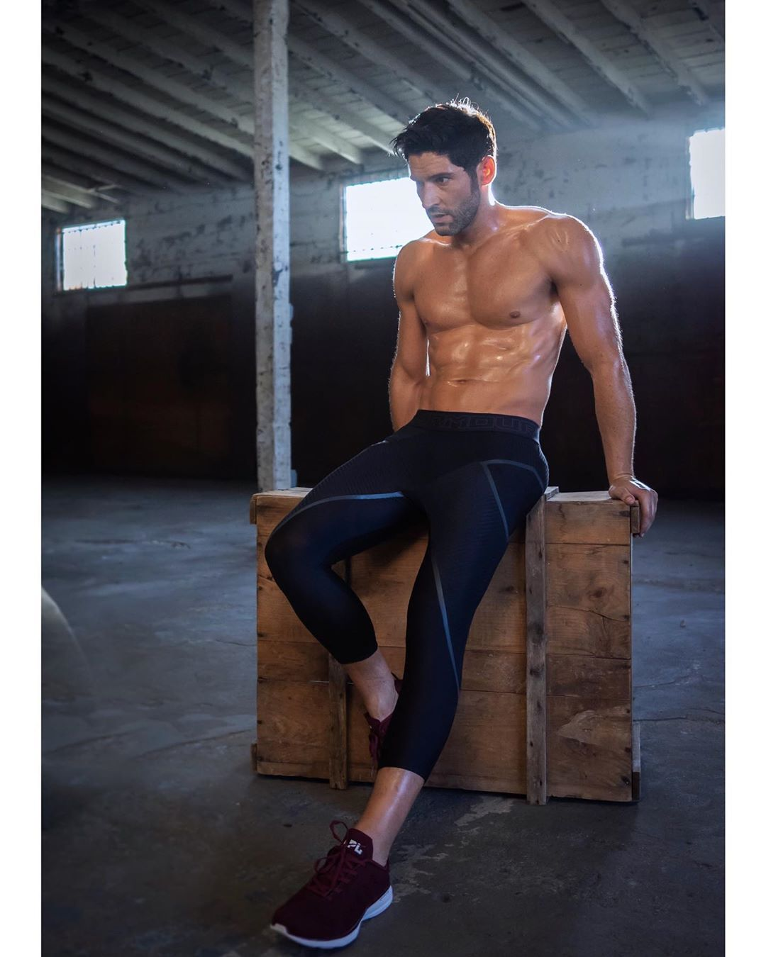 New Pictures Of Tom Ellis: BTS Men's Health Photoshoot