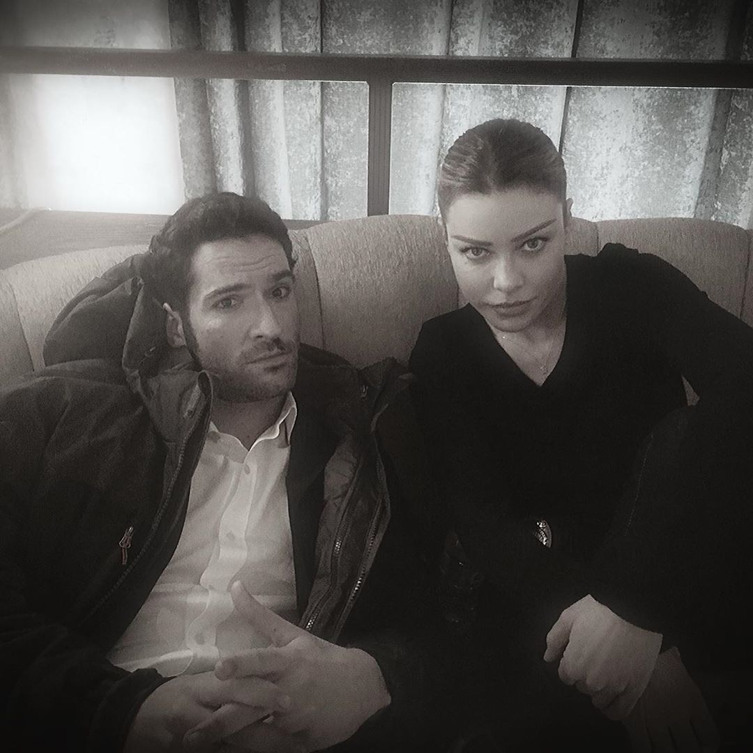 Lucifer Season 4 Bts: New/Old Tom Ellis Pictures