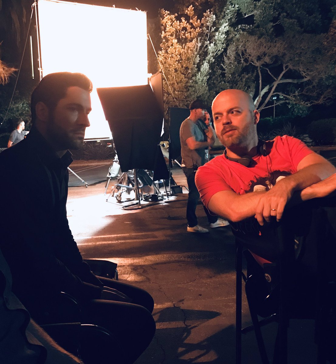 Tom Ellis Lucifer Season 3: New Tom Ellis Pictures And Video
