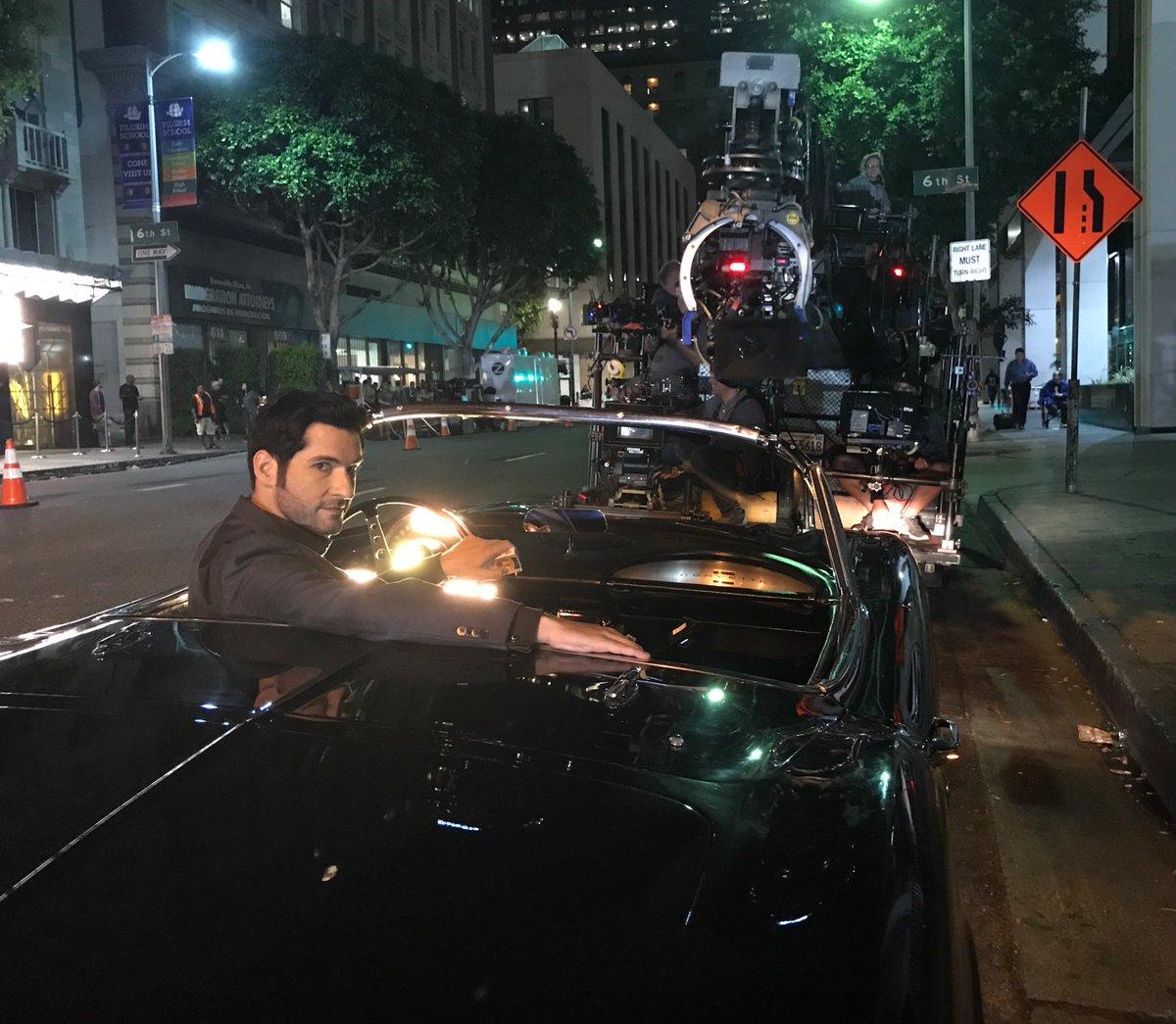 Lucifer Season 2 Ep 4: New Tom Ellis Pictures – BTS Lucifer Season 4