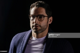 Actor Tom Ellis is photographed for Los Angeles Times on May 7, 2019 in Burbank, California. PUBLISHED IMAGE. CREDIT MUST READ: Kent Nishimura/Los Angeles Times/Contour RA. (Photo by Kent Nishimura/Los Angeles Times/Contour RA by Getty Images)