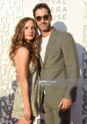 BEVERLY HILLS, CA - JULY 10: Meaghan Oppenheimer and Tom Ellis arrive at the American Friends Of Covent Garden 50th Anniversary Celebration at Jean-Georges Beverly Hills on July 10, 2019 in Beverly Hills, California. (Photo by Gregg DeGuire/Getty Images)