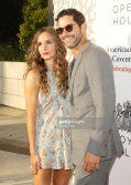 BEVERLY HILLS, CALIFORNIA - JULY 10: Tom Ellis and wife, Meaghan Oppenheimer attend the American Friends of Covent Garden - 50th Anniversary celebration held at Jean-Georges Beverly Hills on July 10, 2019 in Beverly Hills, California. (Photo by Michael Tran/FilmMagic)