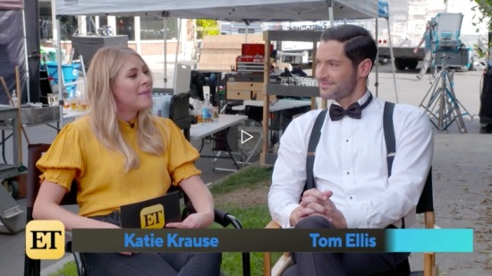 ET Tom Ellis Interview LuciferSeason5